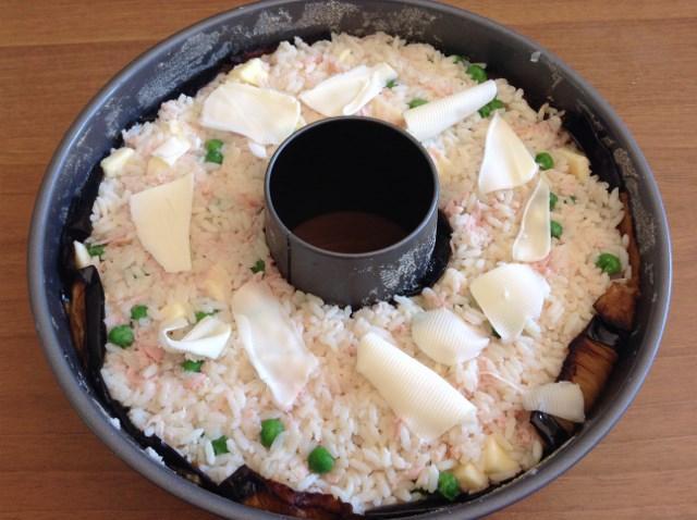 ciambella di riso senza salsa