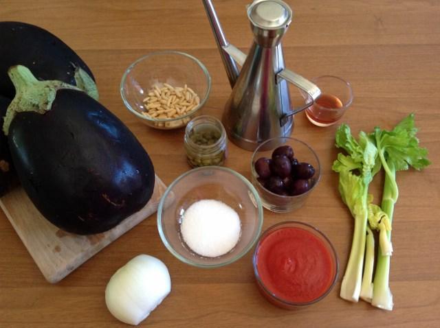 ingredienti caponata di melanzane