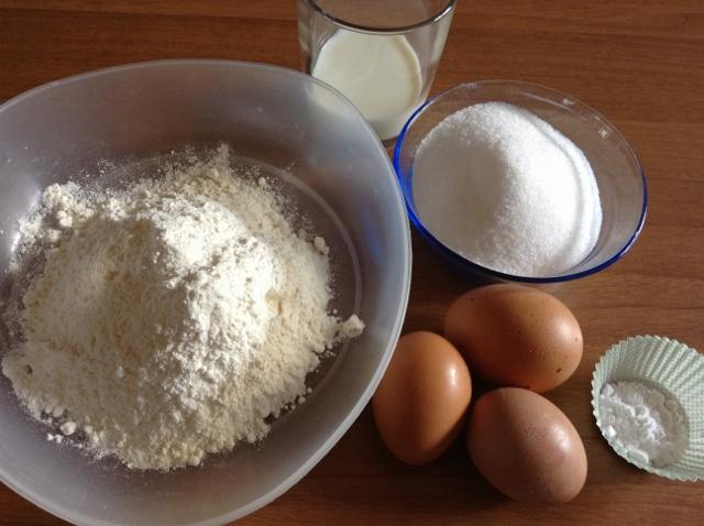 ingredienti pasta biscotto