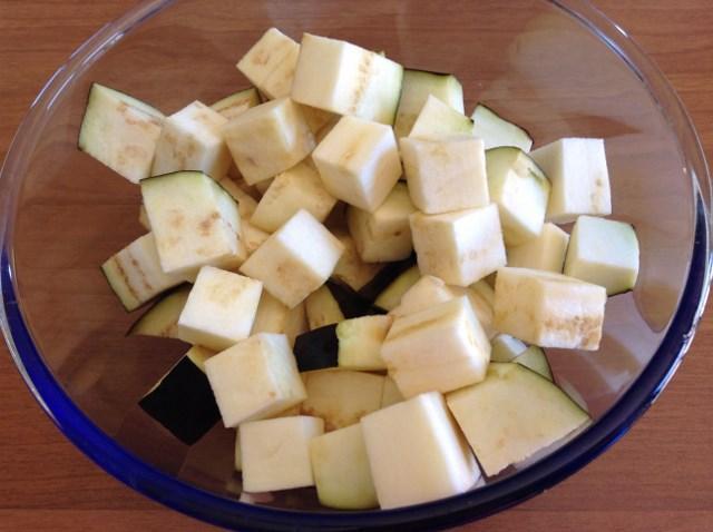 melanzane per caponata