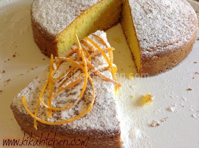 Torta all'arancia bimby morbida e genuina