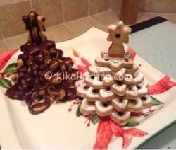 Alberelli di natale (biscotti). Da decorare a piacere