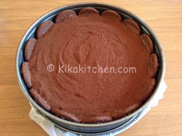 cacao su torta pan di stelle
