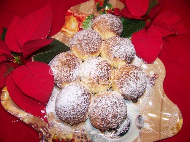 albero di natale con panini dolci
