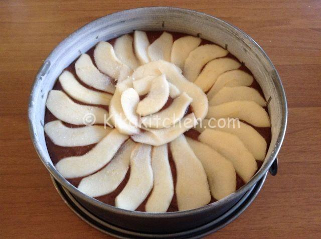 guarnire la torta pere e cioccolato
