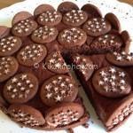 Torta Pan di stelle e nutella. Versione cheesecake senza cottura