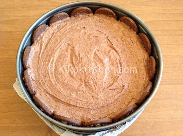 torta pan di stelle con nutella