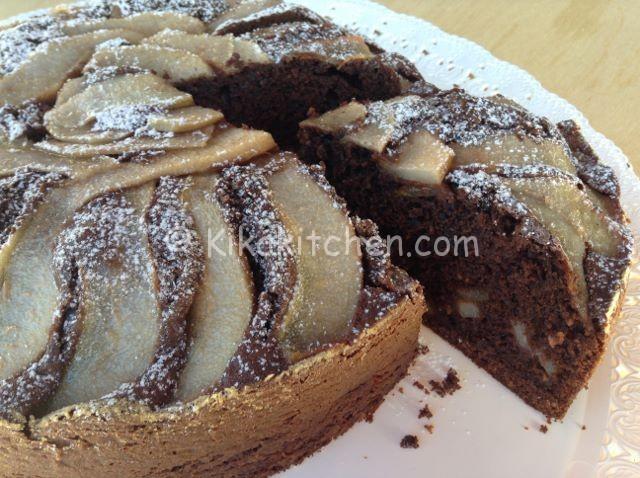 Torta Pere E Cioccolato Alta Morbida E Soffice Kikakitchen