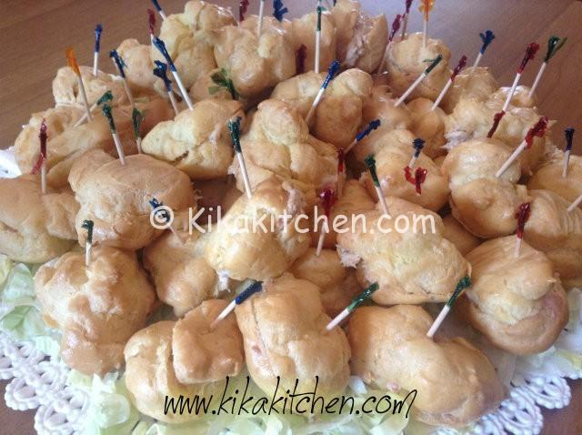 Bignè salati per feste e aperitivi da farcire a piacere