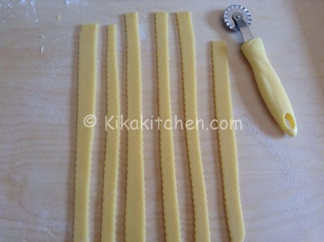 strisce per crostata