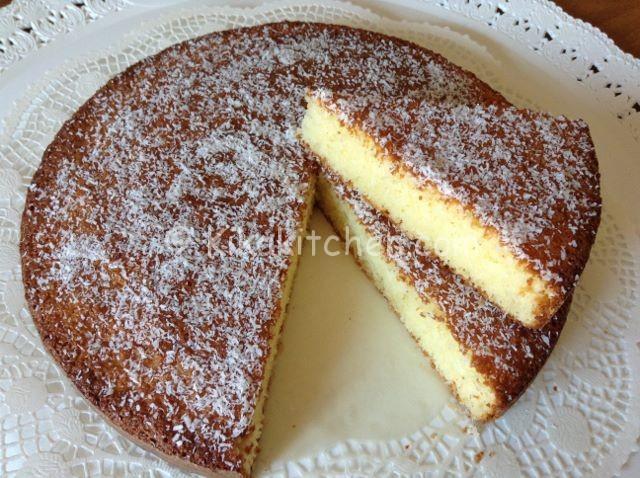 torta al cocco soffice
