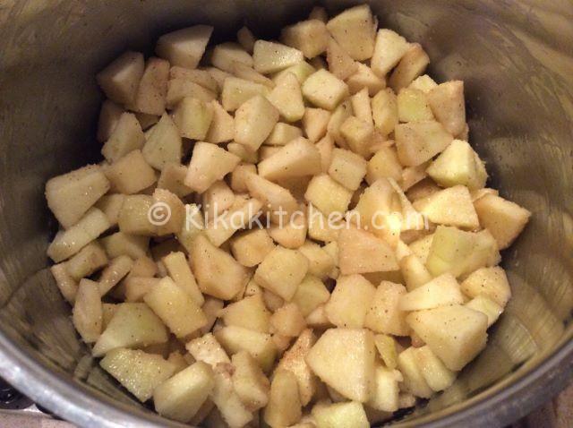 cuocere mele e cannella