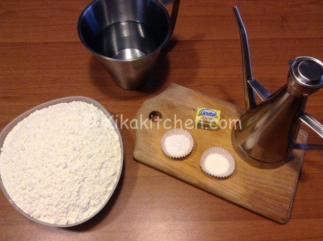 ingredienti focaccia
