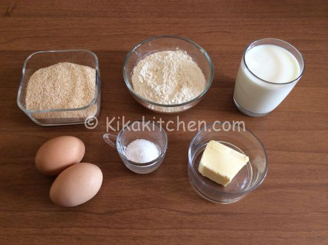 ingredienti sofficini fatti in casa