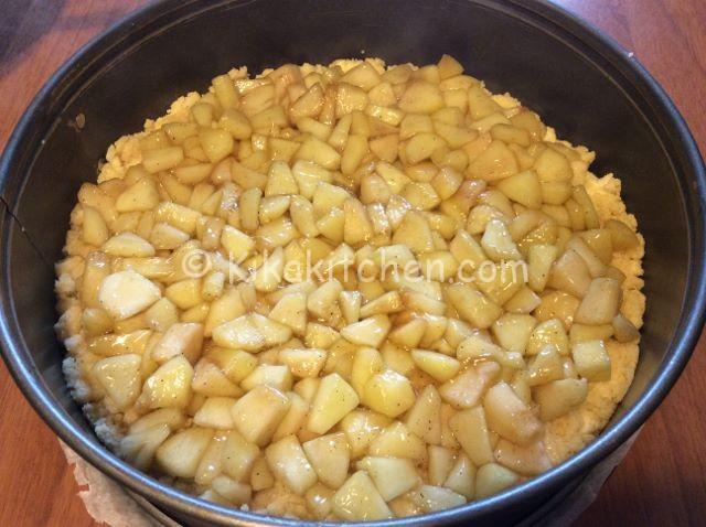 torta di mele sbriciolata ricetta