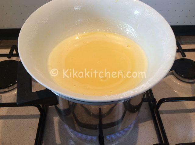 bagnomaria crema a limone