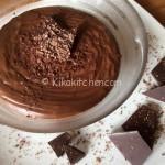 Crema al cioccolato fondente per farcire torte e crostate