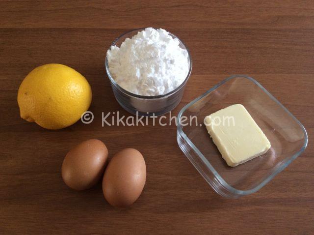 crema al limone senza farina