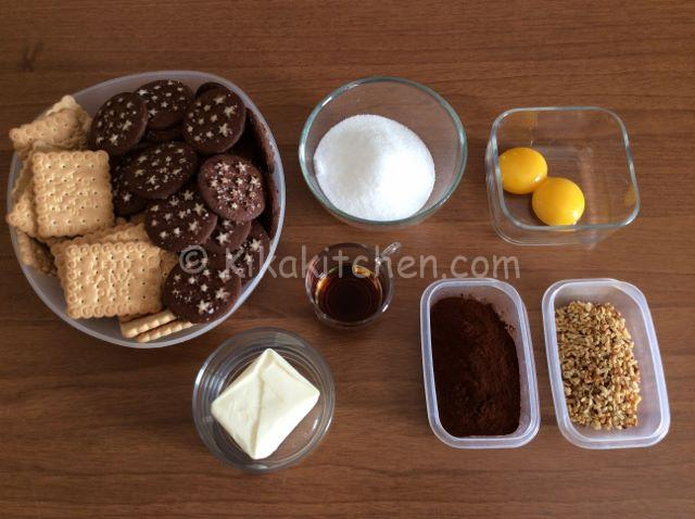 ingredienti palline di cioccolato
