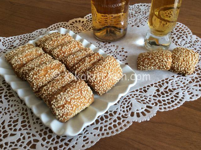 biscotti al sesamo reginelle