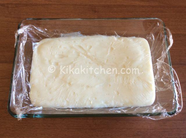 conservare la crema al latte