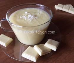 Crema al cioccolato bianco per farcire