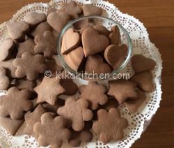 Biscotti con pasta frolla alla nutella