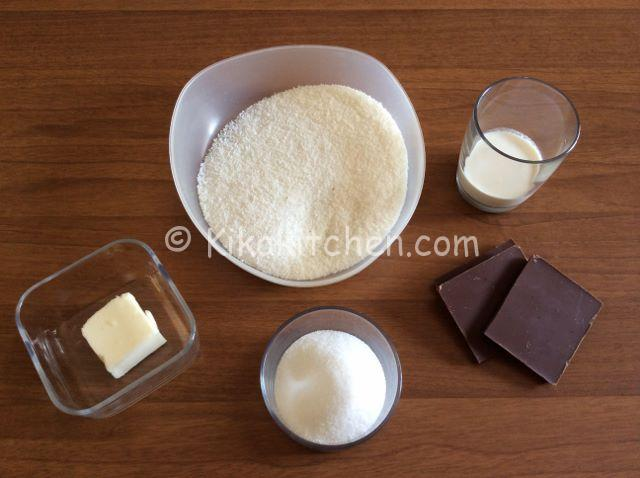 ingredienti bounty fatti in casa