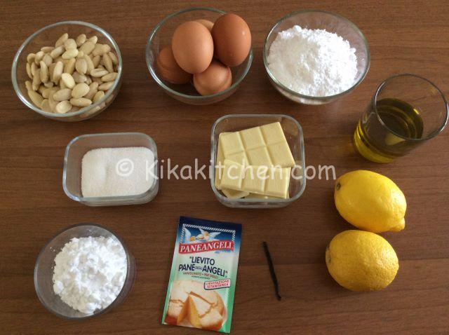 ingredienti caprese al limone