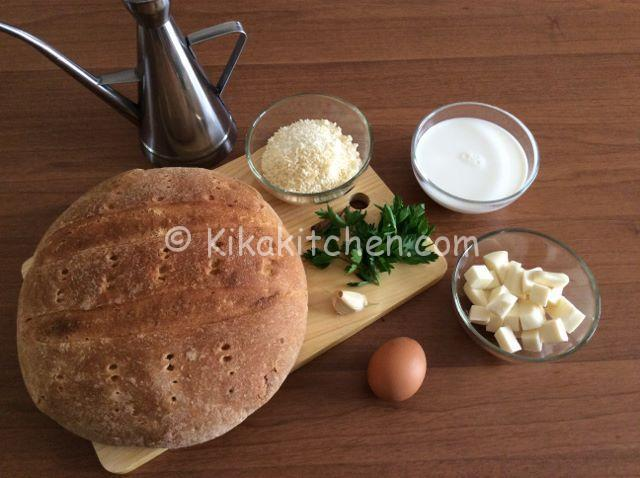 ingredienti polpette di pane