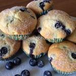 Muffin ai mirtilli (blueberry muffin)