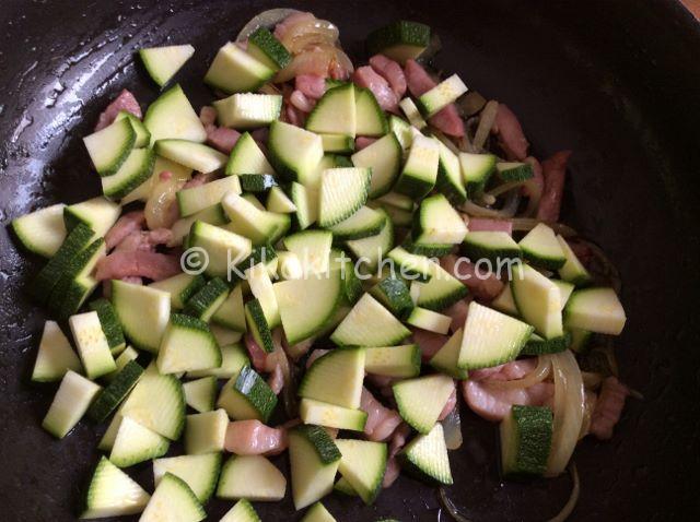 pasta con zucchina