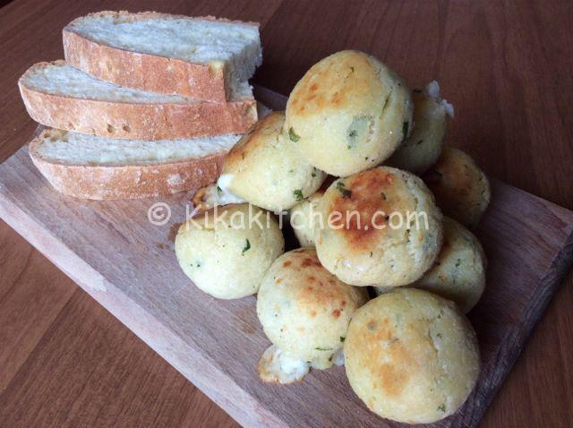 polpette di pane dal cuore filante