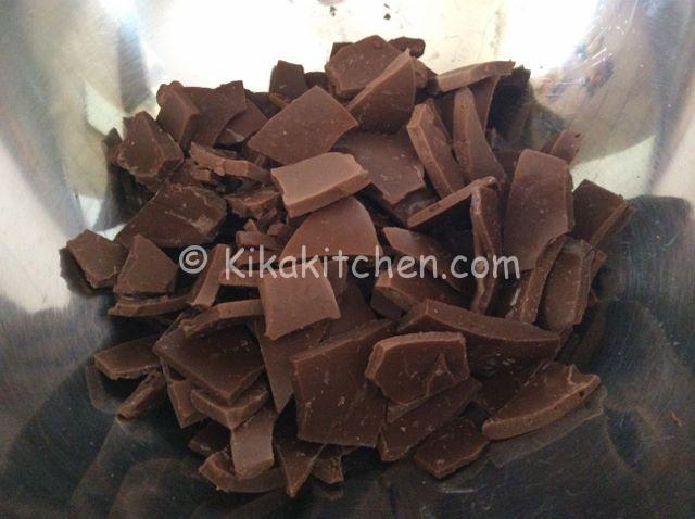 sciogliere il cioccolato a bagnomaria