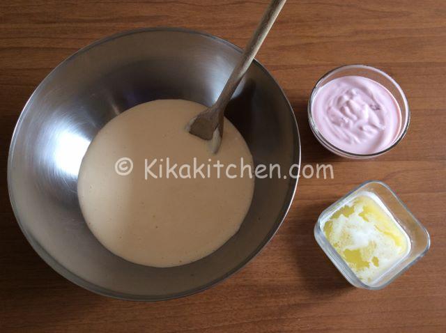 torta con yogurt alla fragola
