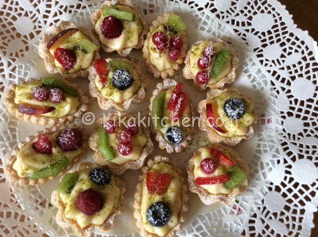cestini di frutta fatti in casa