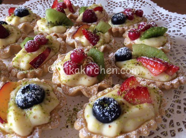 cestini di frutta fresca ricetta