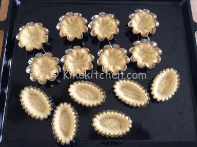 cestini di pasta frolla ricetta