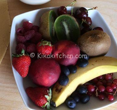 frutta per decorare cestini