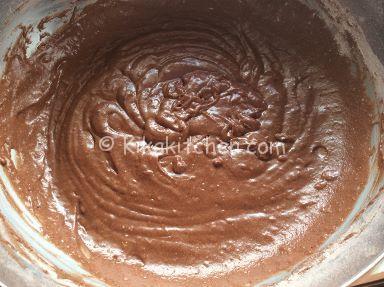 impasto ciambella al cioccolato