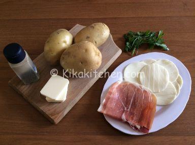 ingredienti patate hasselback