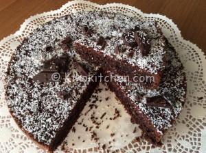 Torta cocco e cioccolato soffice e facilissima