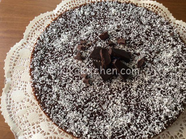 torta cocco e cioccolato ricetta