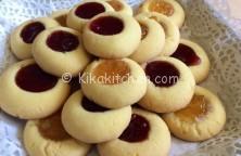 biscotti friabili con marmellata