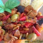 caponata con peperoni catanese