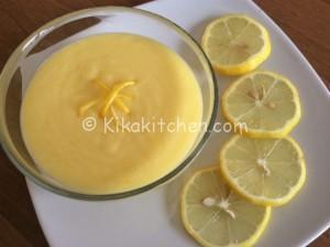 Crema al limone per guarnire e farcire torta, crostate e bignè