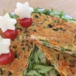 Frittata al forno con verdure miste. Ricetta facile