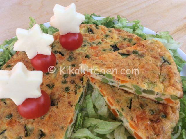 frittata al forno con verdure ricetta