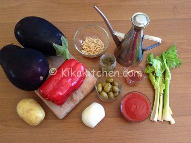ingredienti caponata con peperoni catanese
