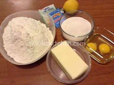 ingredienti frolla per crostata